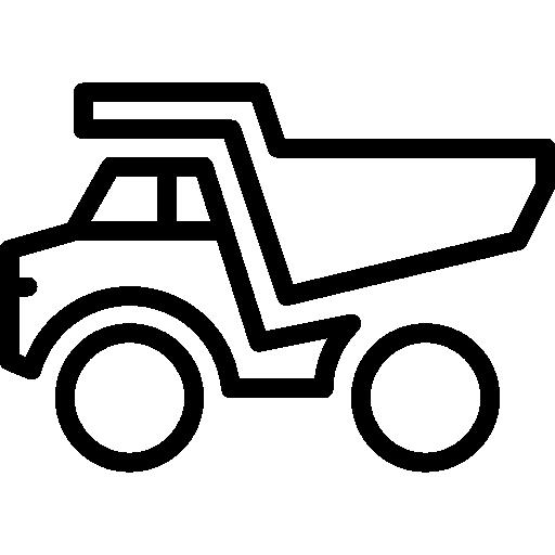 lastbil  i vektorformat med stöldskydd